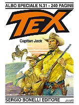 Capitan Jack - Speciale Tex 31 cover