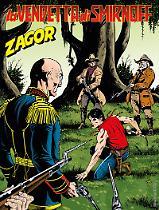 La vendetta di Smirnoff - Zagor 628 cover