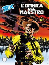 L'ombra del Maestro - Tex 696 cover