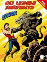 Gli uomini serpente - Zagor 631 cover