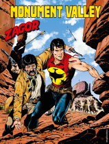 Monument Valley - Zagor 642 cover