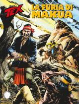 La furia di Maukua - Tex 709 cover