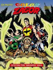 """Spettri per """"Digging"""" Bill - Color Zagor 06 cover"""