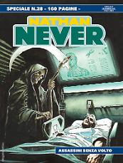 Assassini senza volto - Speciale Nathan Never 28 cover