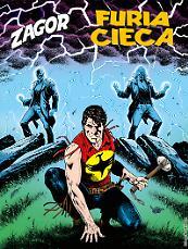 Furia cieca - Zagor 634 cover