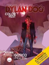 Gotico inglese - Dylan Dog Color Fest 28 cover