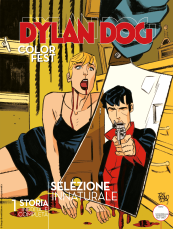 Selezione innaturale - Dylan Dog Color Fest 31 cover