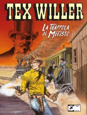 La trappola di Mefisto - Tex Willer 13 cover