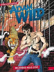 Incendio allo zoo Adam Wild 14 copertina