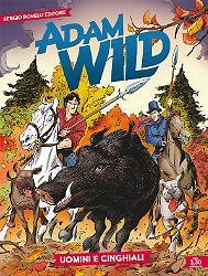 Uomini e cinghiali - Adam Wild 15 cover