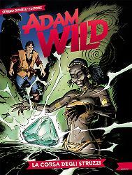La corsa degli struzzi - Adam Wild 18 cover