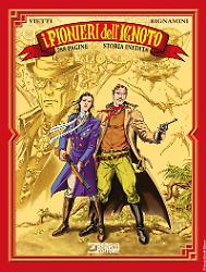 I pionieri dell'ignoto - Romanzi a fumetti 32 cover
