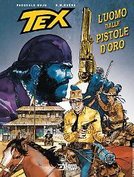 L'uomo dalle pistole d'oro - Tex Romanzi a Fumetti 09 cover