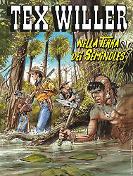 Nella terra dei Seminoles - Tex Willer 20 cover