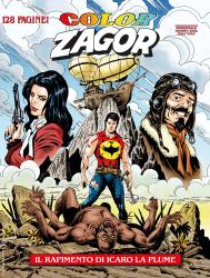 Il rapimento di Icaro La Plume - Color Zagor 11 cover
