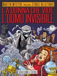 La donna che vide l'Uomo Invisibile - Storie da Altrove 23 cover