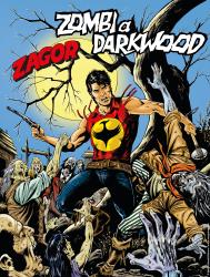 Zombi a Darkwood - Zagor 663 cover
