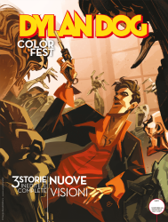 Nuove visioni - Dylan Dog Color Fest 35 cover