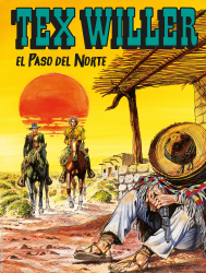 El Paso del Norte - Tex Willer 26 cover