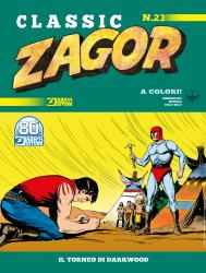 Il torneo di Darkwood - Zagor Classic 23 cover