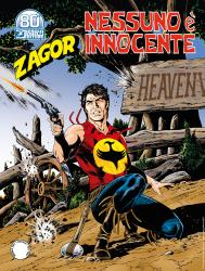 Nessuno è innocente - Zagor 666 cover