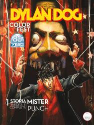 Mister Punch - Dylan Dog Color Fest 36 cover