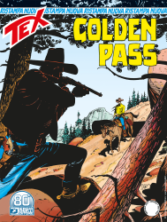Golden Pass - Tex Nuova Ristampa 466 cover