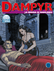 La regina di Babilonia - Dampyr 252 cover