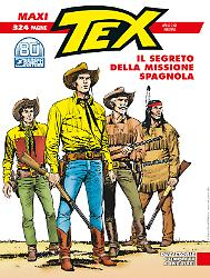 Il segreto della missione spagnola - Maxi Tex 28 cover