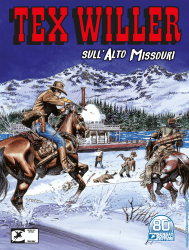 Sull'Alto Missouri - Tex Willer 29 cover