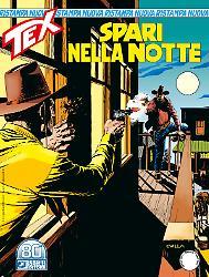 Spari nella notte - Tex Nuova Ristampa 68 cover