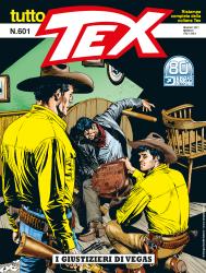 I giustizieri di Vegas - Tutto Tex 601 cover