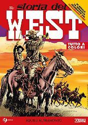 Squilli al tramonto - Storia del West 25 cover