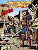 Il ritorno del samurai - Zagor 623 cover