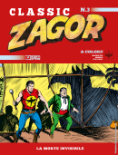 La morte invisibile - Zagor Classic 03 cover