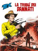 La tribù dei dannati - Tex 708 cover