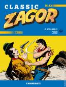 I rinnegati - Zagor Classic 13 cover