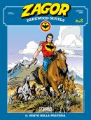 Il vento della prateria - Zagor Darkwood Novels 02 cover