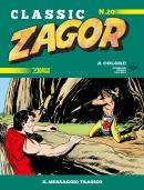 Il messaggio tragico - Zagor Classic 20 cover