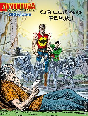 Avventura Magazine Gallieno Ferri cover