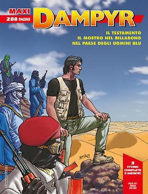 Maxi Dampyr n°9 cover