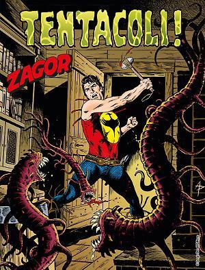 Tentacoli! - Zagor 626 cover