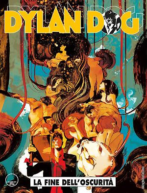 La fine dell'oscurità - Dylan Dog 374 cover