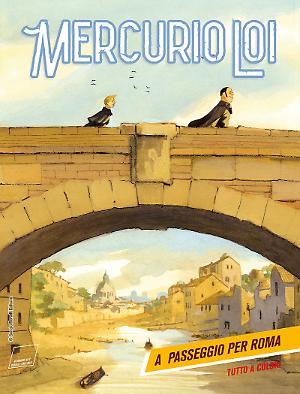 A passeggio per la Roma - Mercurio Loi 06 cover