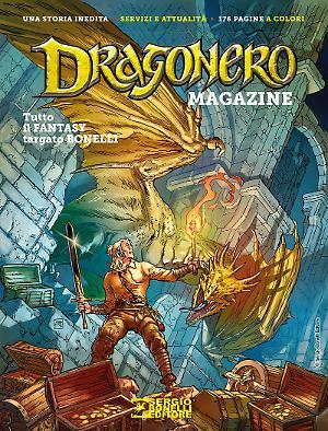 Dragonero Magazine 2017 cover