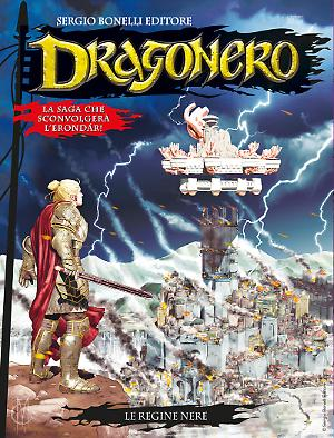 Le Regine Nere - Dragonero 56 cover