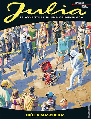 Giù la maschera - Julia 232 cover
