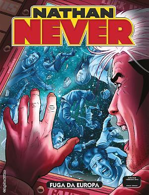 Fuga da Europa - Nathan Never 321 cover