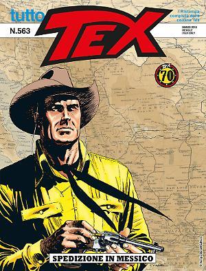 Spedizione in Messico - Tutto Tex 563 cover