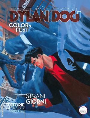 Strani giorni - Dylan Dog Color Fest 24 cover
